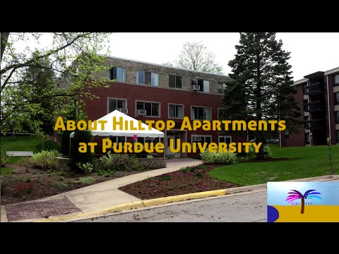About Hilltop Apartments At Purdue University Clarence Ponsler