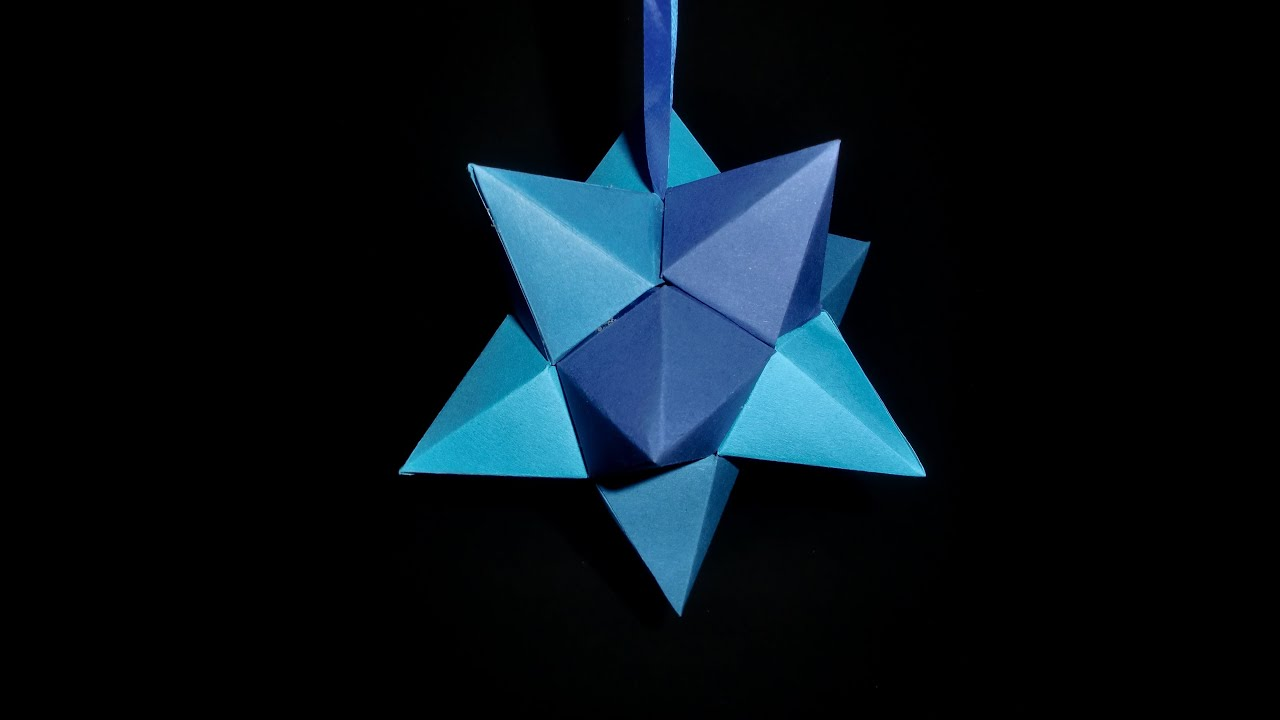 papierstern zum aufh ngen easy star paper craft tutorial hd de youtube. Black Bedroom Furniture Sets. Home Design Ideas