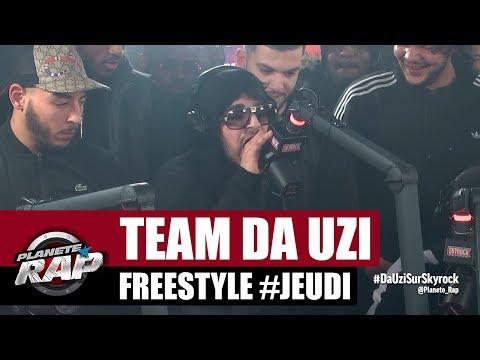 Team DA Uzi - Freestyle #Jeudi Yaro, TIG, Galat, BNF Djedje & Rvzmo #PlanèteRap