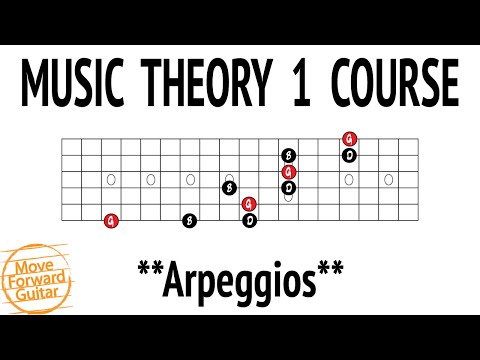 Music Theory 1 Guitar Course – Arpeggios – Lesson 11