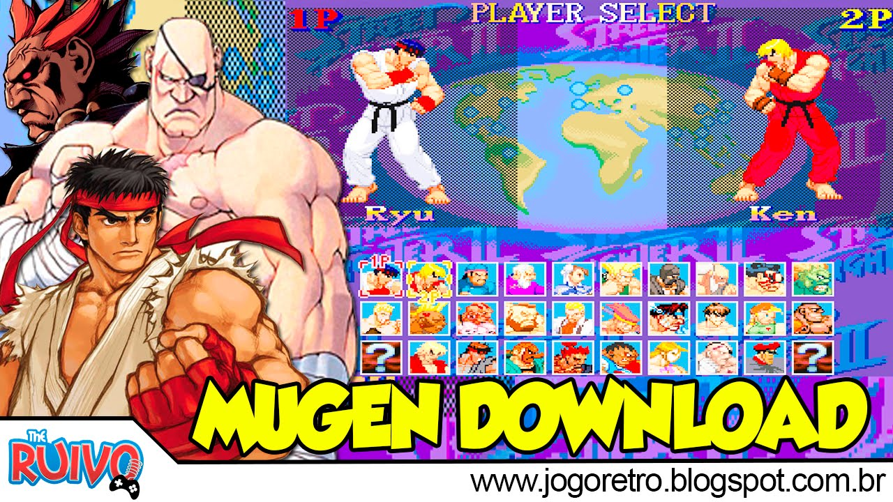 Super Street Fighter II: X Grand Master Challenge MUGEN 2015 Free