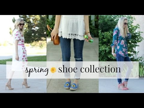 FASHION || my spring shoe collection
