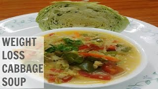 Cabbage Soup for Weight Loss in Hindi-How to Make Cabbage Soup for Weight Loss