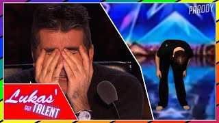 Cover images This DANCING audition BLEW Simon AWAY!| (America's Got Talent Britain's Got Talent (PARODY)
