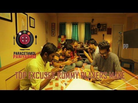 Top Excuses Rummy Players Make | Paracetamol Paniyaram | Junglee Rummy