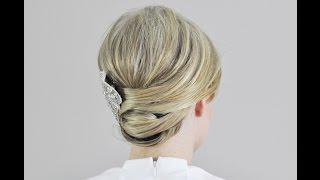 Красивая вечерняя прическа. Прически на волосы средней длины(ПРОФЕССИОНАЛЬНОЕ ПЛЕТЕНИЕ КОС ДЛЯ ЛЕНИВЫХ вместе с прибором Twist Secret!!! Успей купить со скидкой 30%: http://cosy.apishops..., 2014-10-07T22:23:37.000Z)