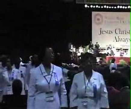2006 National Baptist Convention Ushers Marching