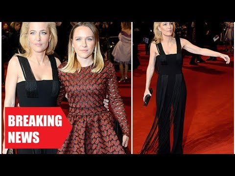 Breaking Gillian anderson, 49, lost her looks like her daughter piper, 29, to the Royal premie