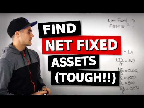 FIN 300 - Finding Net Fixed Assets - Ryerson University