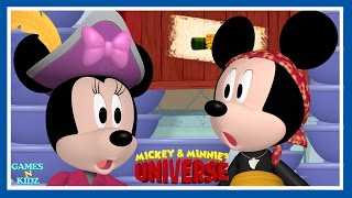 mickey mouse clubhouse mickey minnie pirates cooking fireman disney junior game for kids