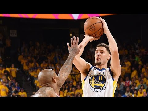 When Klay Thompson is ON FIRE! (Crazy Three Pointers)