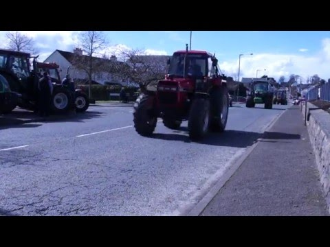 Moneymore Young Farmers Tractor Run 2016