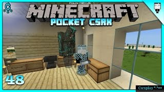 POCKET CSRX - Jaja vaya golem n_n | Serie en Minecraft PE 0.13.0 Gameplay - Episodio 48