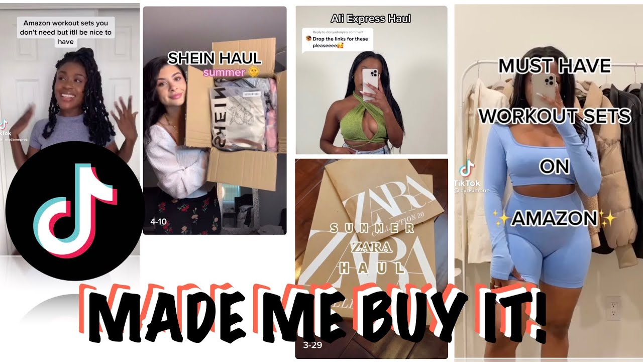TIKTOK MADE ME BUY IT! | CLOTHING HAUL | AMAZON, ALIEXPRESS, SHEIN, ETC.