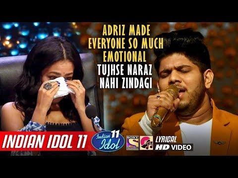 Adriz Indian Idol 11 - Tujhse Naraz Nahi Zindagi Hairan Hoon Main - Neha Kakkar - Vishal - 2019
