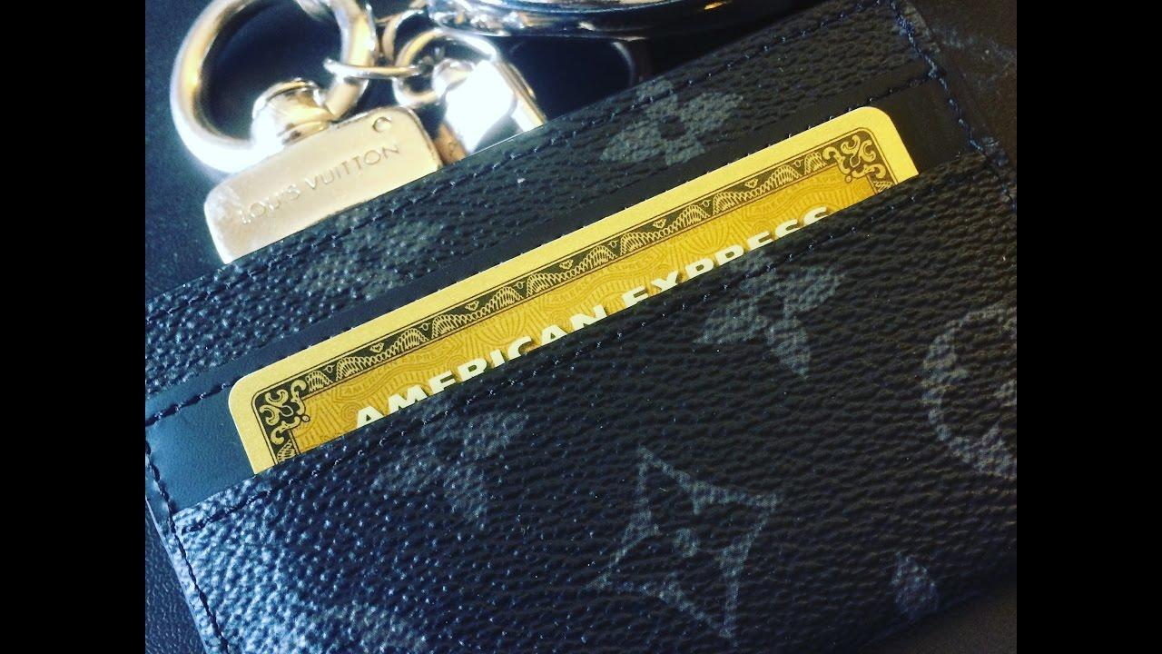 Louis vuitton eclipse porte cartes double review youtube - Supreme louis vuitton porta carte ...