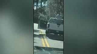 Raw video: <b>Ahmaud Arbery</b> shooting in Georgia