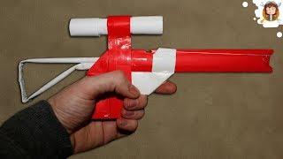 Como fazer uma Sniper de Papel que Dispara Elásticos
