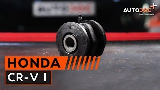 Naprawa HONDA CR-V samemu - video przewodnik samochodowy