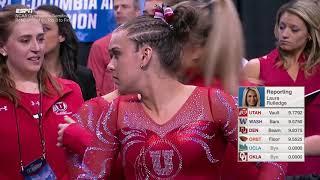 Gambar cover 2017 NCAA Womens Gymnastics Champs Semi 1 Commentary (720p 5147K)