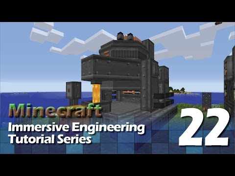 Immersive Engineering Tutorial #22 - Arc Furnace