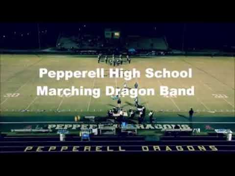 pepperell high school marching dragons 2020 show
