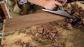 Handtool vs. Powertool Shootout - Milling Rough Sawn Lumber | Hand Tool Shootout