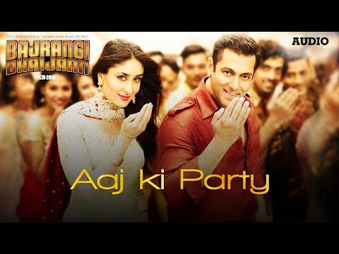 'Aaj Ki Party' Full AUDIO Song - Mika Singh | Salman Khan, Kareena Kapoor | Bajrangi Bhaijaan