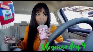 Trying out Starbucks pink drink for the 1st time! Dealing with School's Hardships| VLOGMAS DAY 4