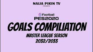 Master League Fantasy - Season 2032/2033 Goals Compilation | HD