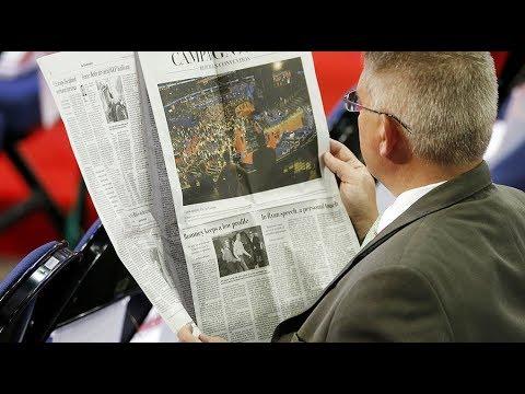 Faith in US media continues to plummet