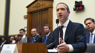 Watch live: Facebook CEO Zuckerberg is grilled in Congress on cryptocurrency, 2020 election
