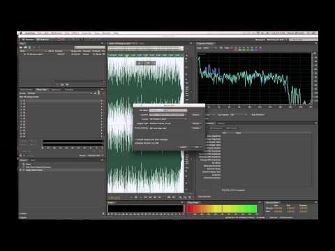 Adobe Audition: How to remove vocals from/or make karaoke tr