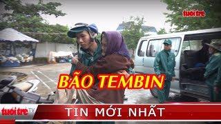 Hàng ngàn người dân TP.HCM di tản tránh bão Tembin