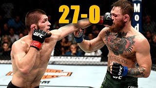 UFC 229: Conor McGregor versus Khabib Nurmagomedov the MEGAFIGHT!!!