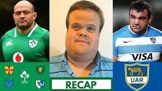 Ireland vs Argentina 2018 RECAP | November Tests Week 2