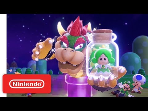 Wii U - Super Mario 3D World Gameplay Trailer