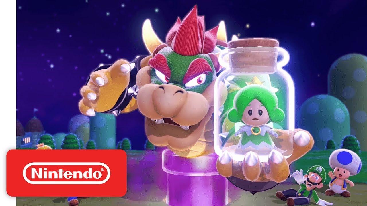 Super Mario 3D World Gameplay Trailer - Wii U - YouTube