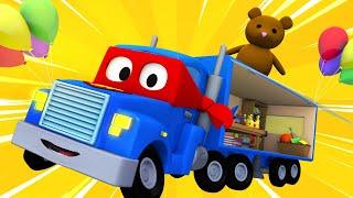Грузовик ВИТРИНА - Трансформер Карл в Автомобильный Город 🚚 ⍟ детский мультфильм