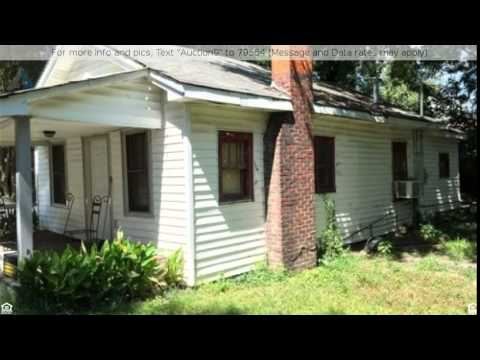 Online Auction 602 Styers Street & 402 West Second Streets, Cherryville, NC 28021