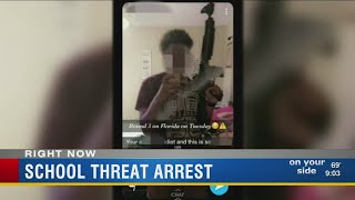 St. Pete teen arrested for Snapchat threat