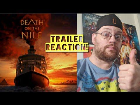 TRAILER REACTION! DEATH ON THE NILE (2020)