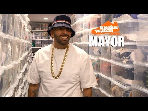 Mayor on Owning 3,000 Pairs of Kicks Worth $750k streaming vf