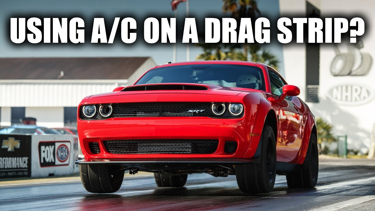 Dodge Demon Uses Air Conditioning For More Horsepower!