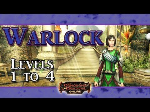 DDO: Warlock (Levels 1 to 4)
