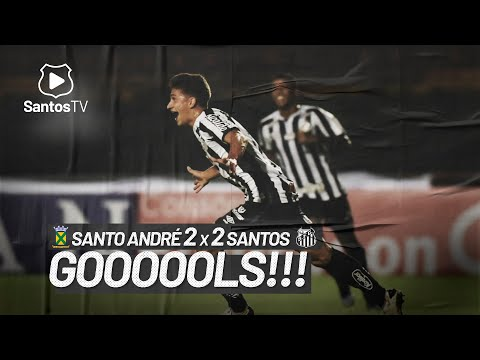 SANTO ANDRÉ 2 x 2 SANTOS | GOLS | PAULISTÃO (28/02/21)