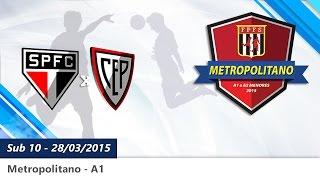 10-São Paulo F.C. 2x3  C.E. Penha 28/03/15