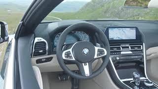 2019 BMW 8 Series Convertible interior design