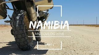 BMW GS R1200 Motorcycle Adventure Namibia 2016 Part One