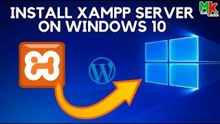 How to Install XAMPP Server on Windows 10 And Install Wordpress local Server